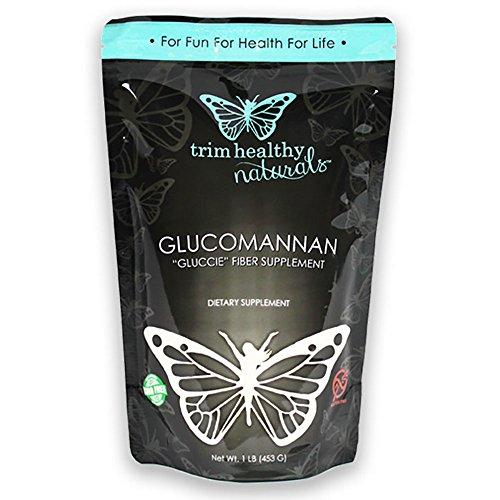 Trim Healthy Mama Glucomannan Dietary Fiber 1 Pound