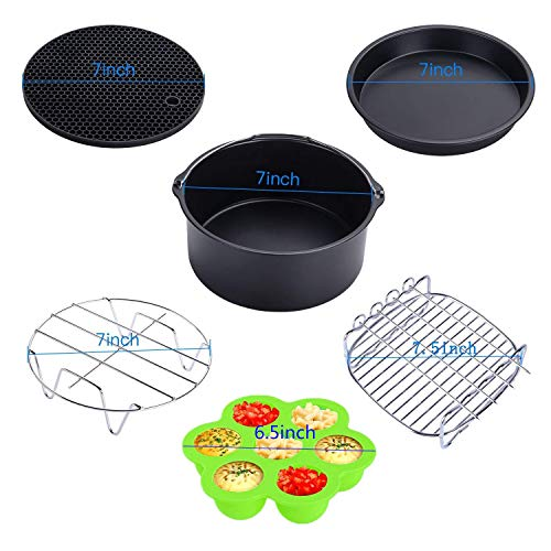 Air with Recipe Growise Phillips Air Fryer Accessories