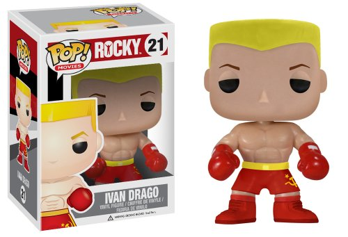 Funko - Figurine Rocky - Ivan Drago Pop 10cm - 0830395029