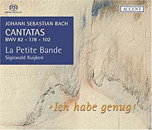 Bach: Cantatas BWV 82, 178, 102 (Cantatas for the complete liturgical year Vol 3) /La Petite Bande * S Kuijken