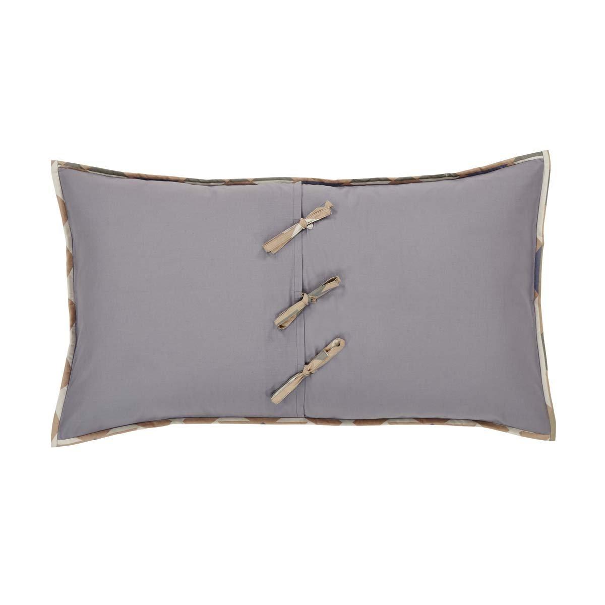 Grey El Dorado Pink Sham King 29759 VHC Brands Boho /& Eclectic Rustic /& Lodge Bedding