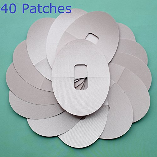 40 Patches Ultra-Thin Adhesive Patches Pre Cut fits Dexcom G4 G5 Sensor  Protection Nude Color Abbott