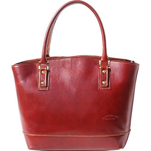 204 Marron À Leather Main Détachable Bandoulière Avec Florence Market Sac 68qwzqR