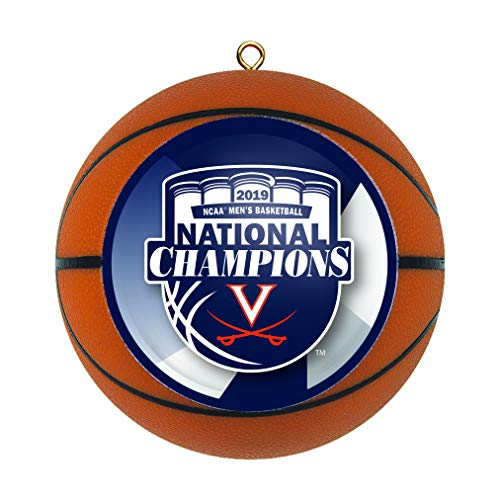 Boelter Brands Virginia Cavaliers 2019 NCAA National Champions Replica Basketball Ornament