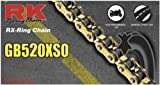 RK Racing Chain GB520XSO-120 120-Links Gold X-Ring Chain with Connecting Link