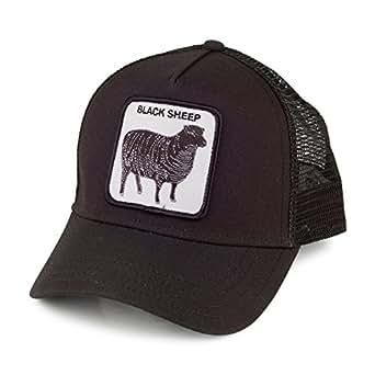 ea8f10ea882e8 Gorra Trucker Black Sheep de Goorin Bros. - Negro - Ajustable  Amazon.es   Ropa y accesorios