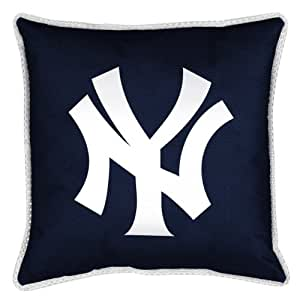 Mlb New York Yankees Sidelines Toss Pillow