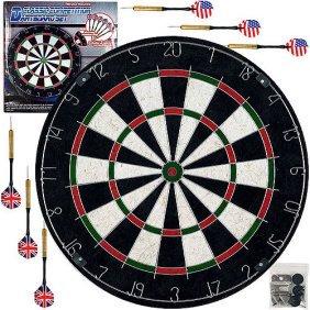 trademark games bristle dart board