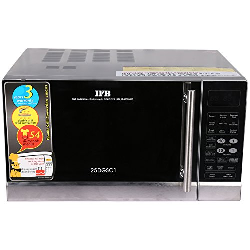 IFB 25 L Convection Microwave Oven (25DGSC1, Black)