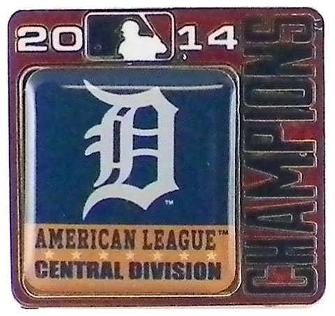 (Detroit Tigers 2014 Division Champs Pin)