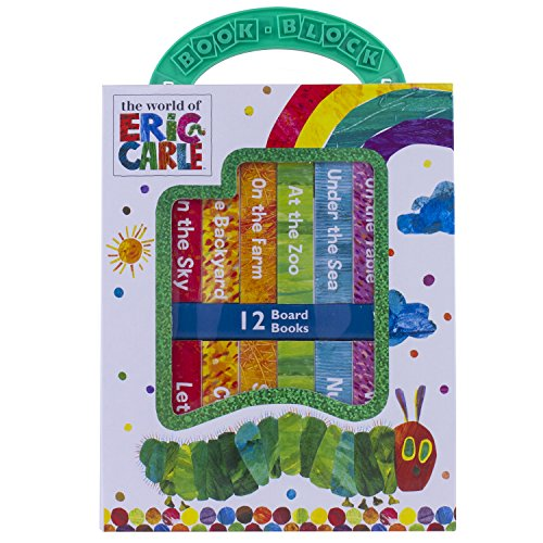 (World of Eric Carle, My First Library Board Book Block 12-Book Set - PI Kids)