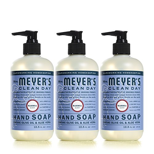 Mrs. Meyer´s Clean Day Hand Soap, Bluebell, 12.5 fl oz, 3 ct by Mrs. Meyer's Clean Day