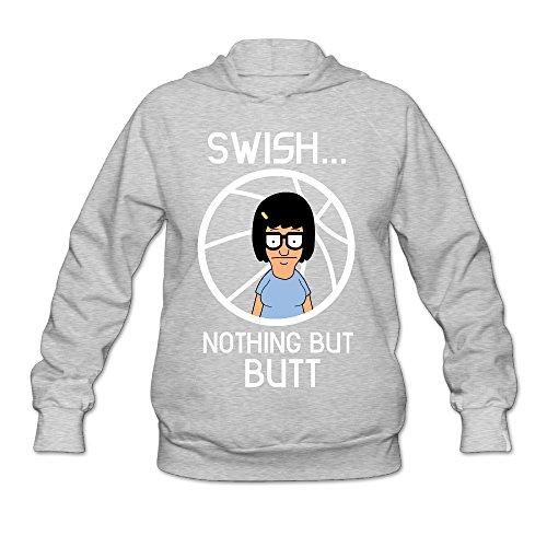 CYANY Bob's Animated Sitcom Burgers Tina Swish Women's Summer Hoodies Sweatshirt SAsh