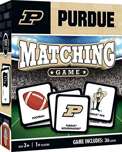 (MasterPieces NCAA Purdue University Boilermakers Matching Game)