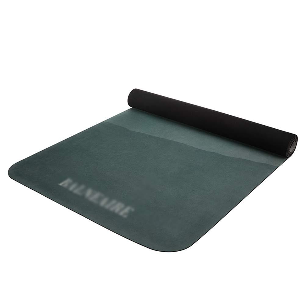 YONGMEI Ältere Gummi-Yoga-Matte weibliche männliche Fitnessmatte Verlängerung Verbreiterung Flaum Schlafzimmer Übungsmatte 183  65  0.3cm Sport im Freien