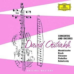 """Afficher """"Oistrakh, David, violon Récital"""""""