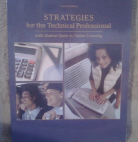 Download Strategies for the Technical Professional with Student Guide to Online Learning PDF ePub ebook