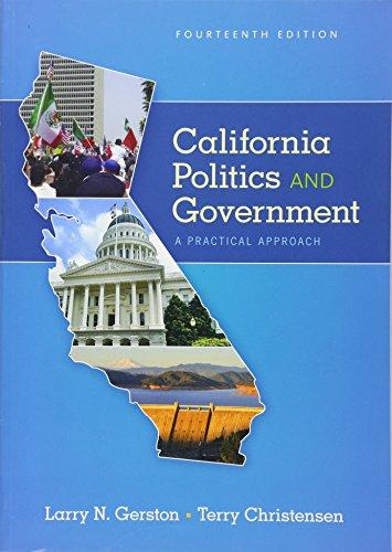 CALIFORNIA POLITICS+GOVERNMENT