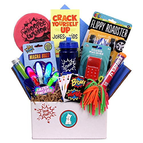 Beyond Bookmarks Boy Stuff - Summer Camp Care Package, Birthday or Get Well Gift