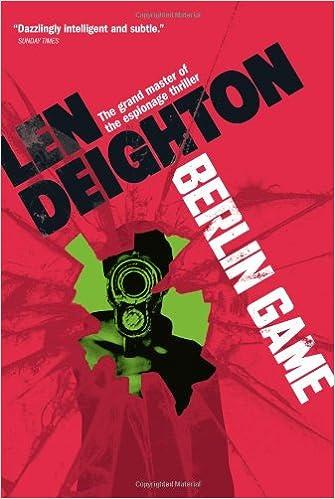 Len Design Berlin amazon com berlin samson 9781402795145 len deighton books