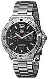 TAG Heuer Men's WAU111A.BA0858 Formula 1 Black Dial Grande Date Alarm Watch