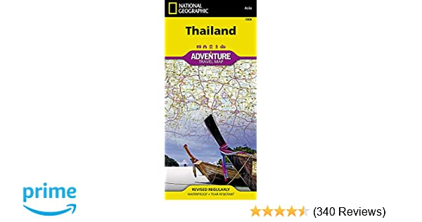 Thailand (National Geographic Adventure Map): National Geographic