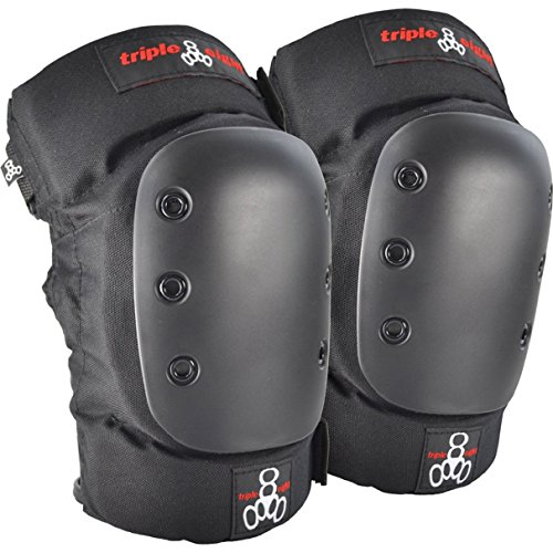 Triple 8 KP 22 Knee Pads (Black, Large)