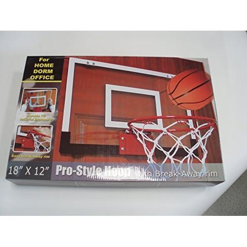 Koolook Mini panier de basket-ball d'intérieur avec mini ballon gonflable