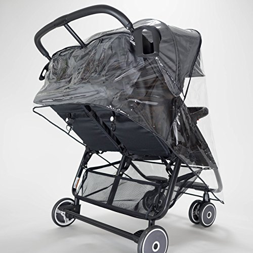 ZOE XL2 Lightweight Double Stroller Tailored Raincover - http://coolthings.us