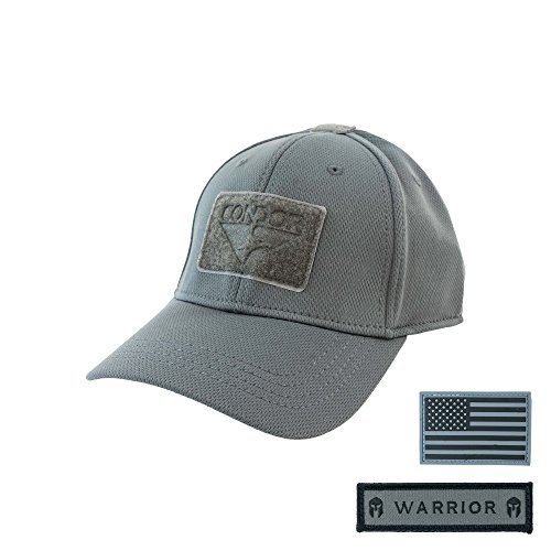 Condor Flex Tactical Cap (Graphite) + Free Warior & PVC Flag Patch
