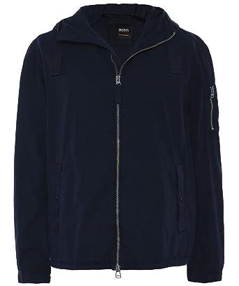 3cee28b47 BOSS Hugo Olvaro-D Mens Navy Jacket 52 (XL): Amazon.co.uk: Clothing