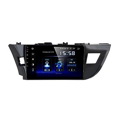 "Dasaita 10.2"" Android Car GPS Radio for Toyota Corolla 2014-2020 Audio Video Player 4G RAM 64G ROM Build in Carplay/Android Auto: GPS & Navigation"