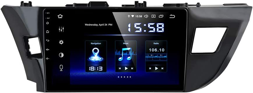 "Dasaita 10.2"" Android Car GPS Radio for Toyota Corolla 2014-2017 Audio Video Player 4G RAM 64G ROM Build in Carplay/Android Auto"