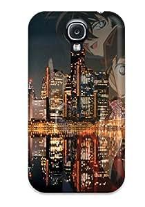 High-end Case Cover Protector For Galaxy S4(detective Conan)