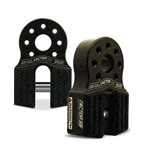 Factor55 FlatLink Loaded Shackle Mount (16.000 Lbs) - Black by FACTOR55