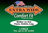 Extra Wide Comfort Fit Athletic Crew