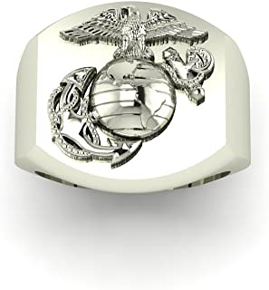product image for Signet Ring with Eagle Globe and Anchor MR1