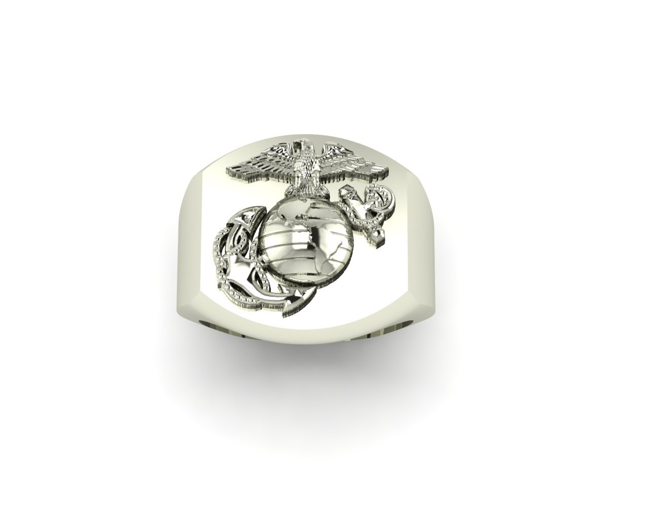 Signet Ring with Eagle Globe and Anchor MR1