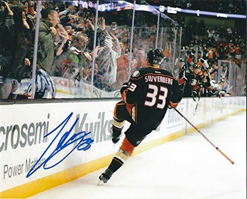 Autographed Jakob Silfverberg 8x10 Anaheim Ducks Photo ()