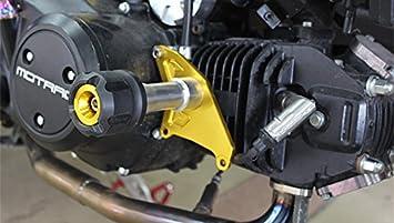 XuBa Protector de ca/ída para Motocicleta CNC Frame Slider Crash Pad para Honda MSX125 MSX125SF