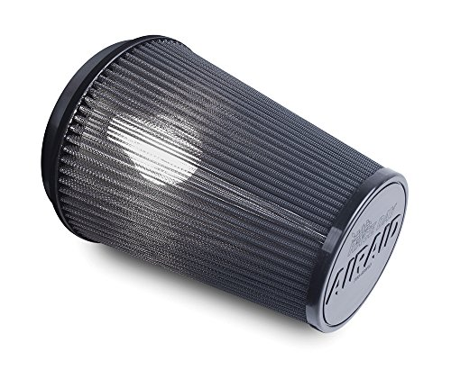 Airaid 700-470RD Racing Air Filter: Round Tapered; 4 in (102 mm) Flange ID; 9 in (229 mm) Height; 6 in (152 mm) Base; 4.625 in (117 mm) Top