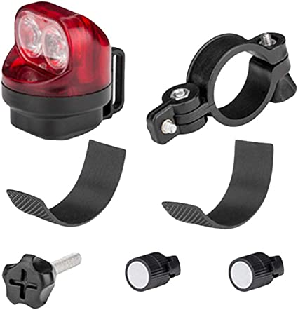 5LED Bicycle Lights Induction Bike Taillights Highlight Outdoor Safety Warning