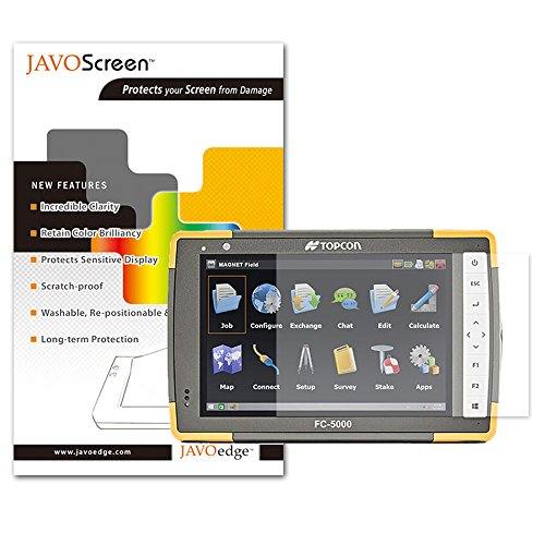 JAVOedge Ultra Clear Screen Protector for Topcon FC-5000 (2-Pack)