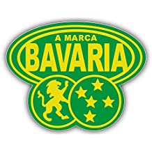 "A Marca Bavaria Beer Brazil Logo Car Bumper Sticker Decal 14"" X 11"""