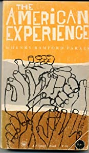 Mass Market Paperback THE AMERICAN EXPERIENCE Book