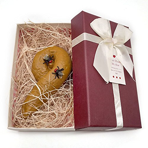 WZLPY Fake Poop in a Gift Box,Tricky Toys Mischief Gift...