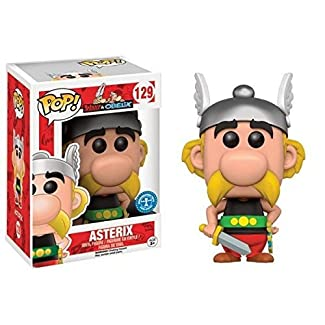 Funko - Figurine Asterix Et Obelix - Asterix Pop 10cm - 0849803055486
