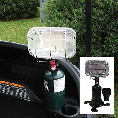 Golf Cart Portable Propane Heater - Ceramic Cart