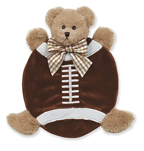 Bearington Baby Wee Touchdown Plush Teddy Bear Security Blankie 8