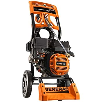 Amazon Com Generac 6595 2 500 Psi 2 3 Gpm 196cc Ohv Gas